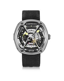 OT-3 316L Steel Men's Watch w/Yellow Luminova and Nylon Strap