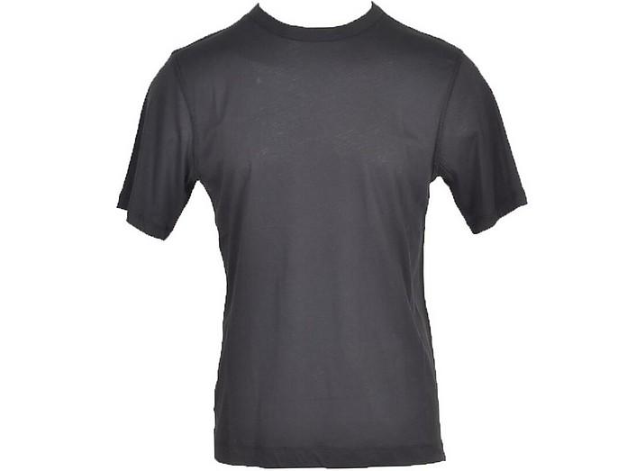 Men's Black T-Shirt - Dries Van Noten