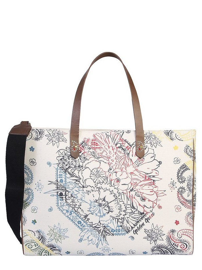 CALIFORNIA SHOPPING BAG - Golden Goose