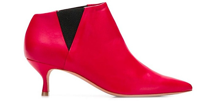 Red Leather Fairy Boots - Golden Goose