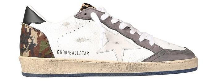 """Ball Star"" Sneakers - Golden Goose"