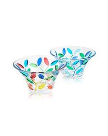 Rialto - Hand Decorated Murano Glass Small Bowl - Due Zeta