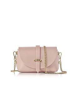 Caviar Candy Pink Leather Mini Shoulder Bag - Le Parmentier