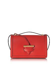 Diodora Shoulder Bag w/Triangle Charm  - Le Parmentier
