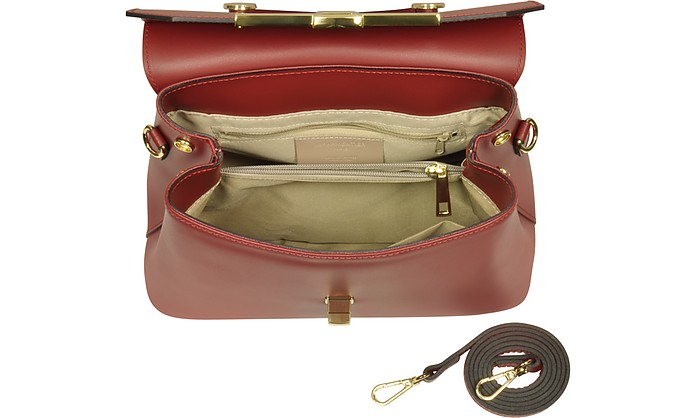 a49fc67a7e More Offers ×. Atlanta Top Handle Satchel Bag w Shoulder Strap - Le  Parmentier