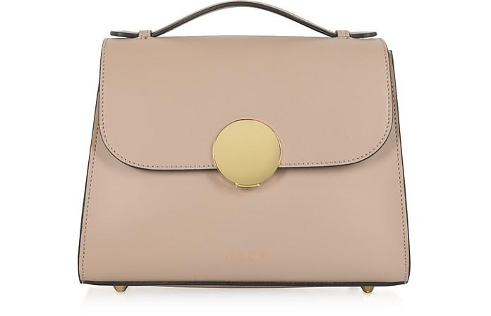 Bombo Top-Handle Satchel Bag w/Strap - Le Parmentier