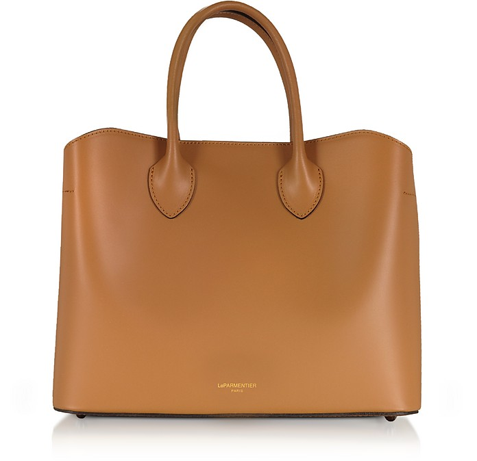 458122d863 Le Parmentier Caramel Jackie Leather Tote Bag at FORZIERI UK