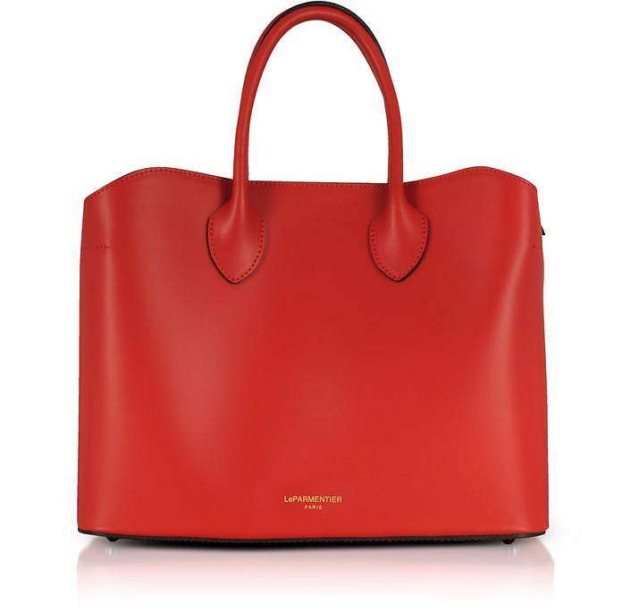 Jackie Leather Tote Bag - Le Parmentier