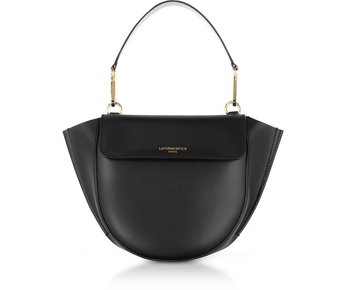 Astorya Leather Mini Bag w/Shoulder Strap - Le Parmentier