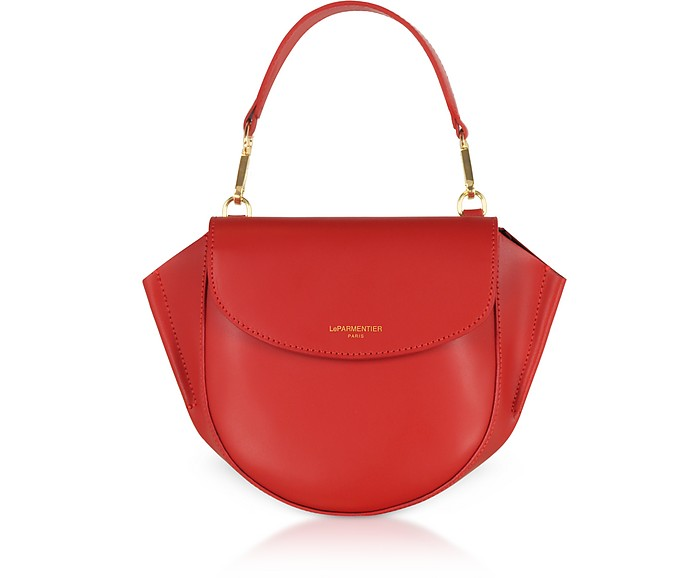 Astorya Leather Mini Bag w/Shoulder Strap - Le Parmentier