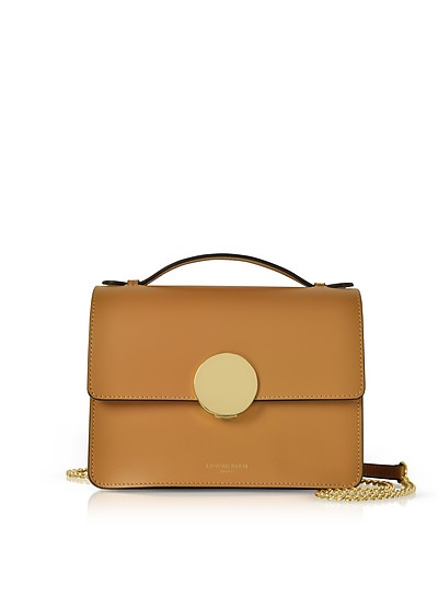 Ondina Flap Top Leather Satchel Bag - Le Parmentier