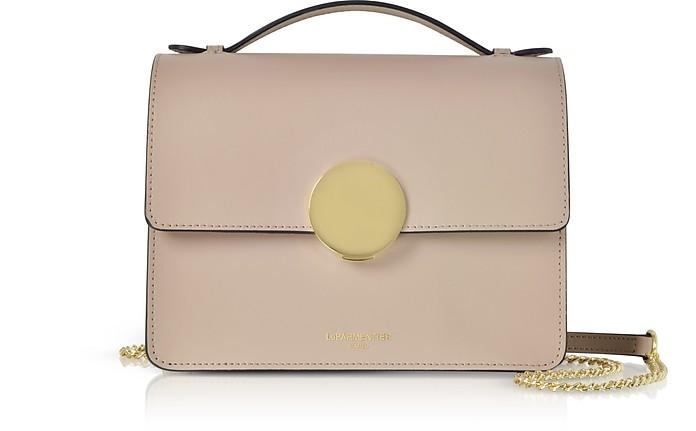Ondina Flap Top Leather Satchel Bag - Le Parmentier