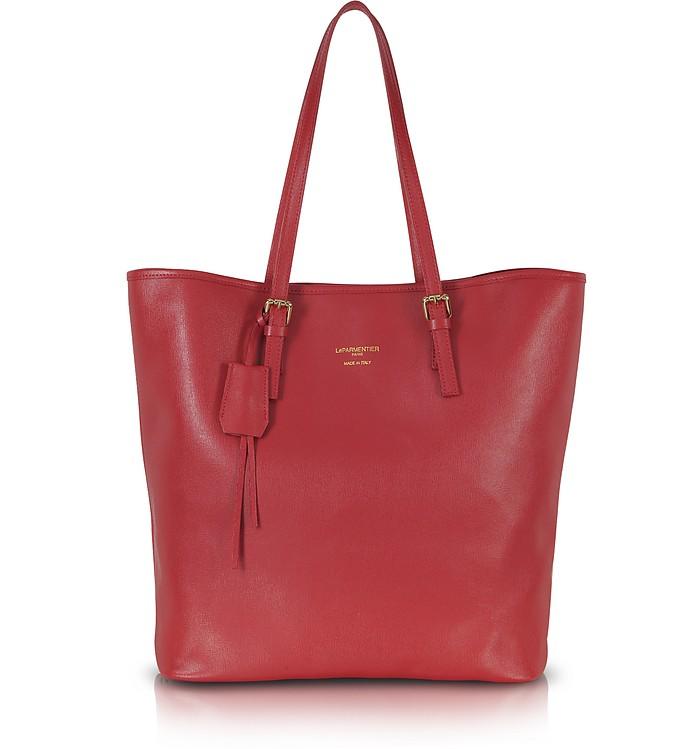 Large Saffiano Leather Tote - Le Parmentier