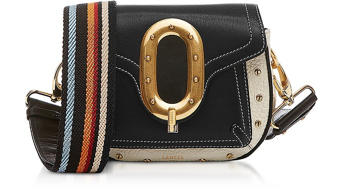 Romane De Lancel Black/Small Saddle Bag - Lancel