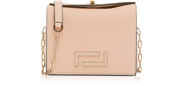 Pia Mini Chain Shoulder Bag - Lancel