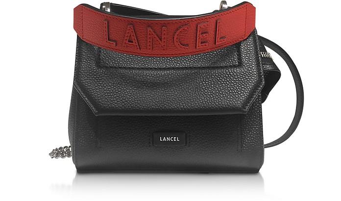 Ninon Round Leather Small Flap Bag - Lancel