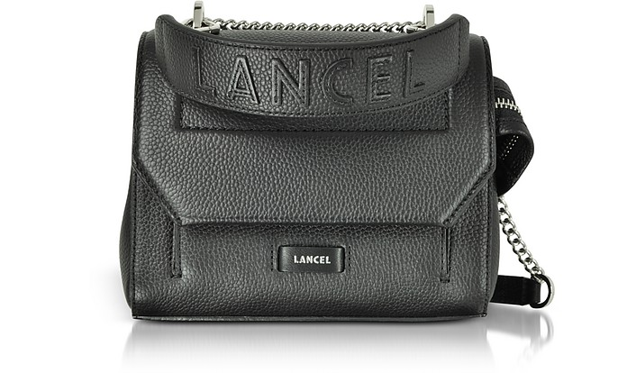 Ninon Round Leather Small Flap Bag - Lancel