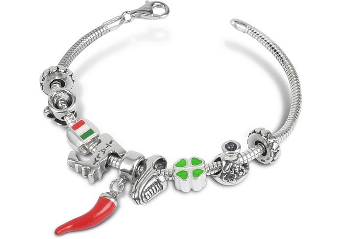 Bracelet en argent fin  - Tedora