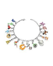 Clicla - Armband mit bunten Anhängern - Tedora