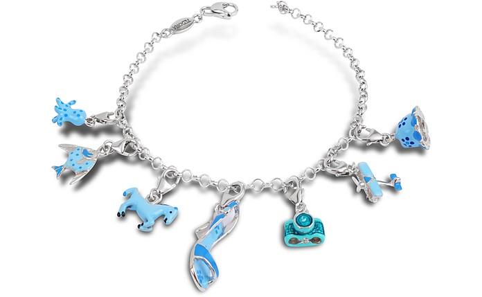 Clicla Celesta - Armband aus Sterling Silber in blau - Tedora