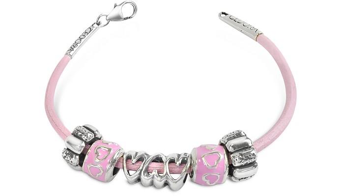 Baby Girl Sterling Charm Bracelet - Tedora