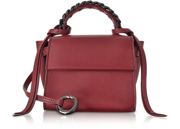 Ribes Leather Micro Angel Top Handle Satchel Bag - Elena Ghisellini