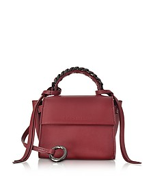 Ribes Leather Micro Angel Top Handle Satchel Bag - Elena Ghisellini
