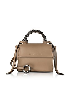Nut Leather Micro Angel Top Handle Satchel Bag - Elena Ghisellini
