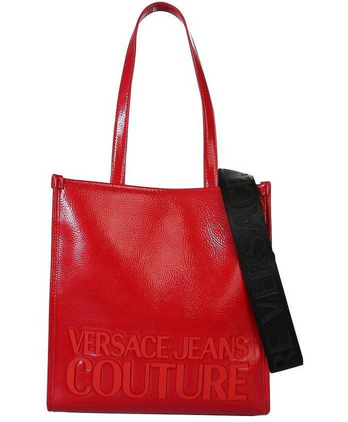 Small Tote Bag With Logo - Versace Jeans Couture