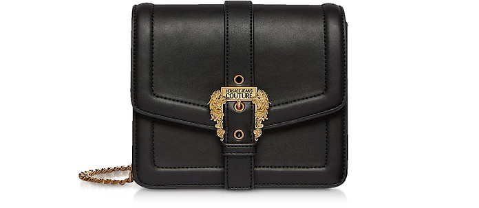Squared Classic Crossbody Bag w/ Buckle - Versace Jeans Couture