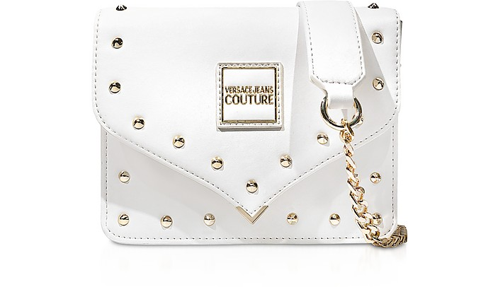 Nappa Crossbody Bag w/Studs - Versace Jeans Couture