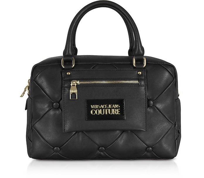 Nappa Capitonne Shoulder Bag - Versace Jeans Couture