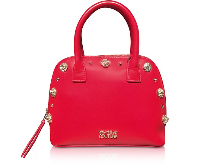 Nappa Fiore Top Handle Bag w/ Studs - Versace Jeans Couture / ヴェルサーチジーンズクチュール