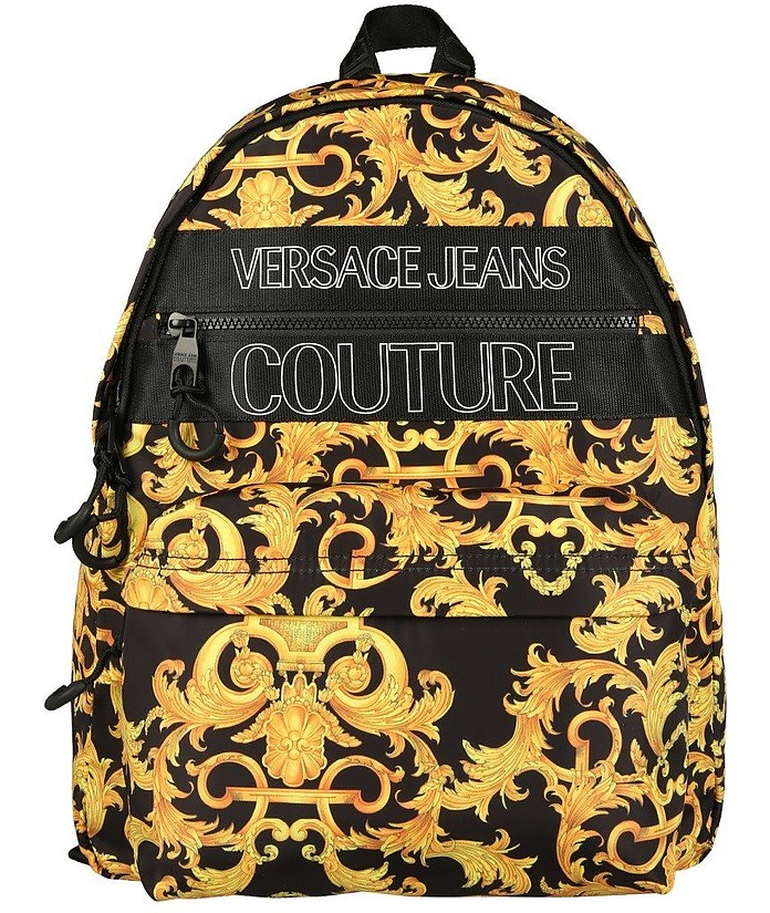 Backpack With Baroque Print - Versace Jeans Couture / ヴェルサーチジーンズクチュール