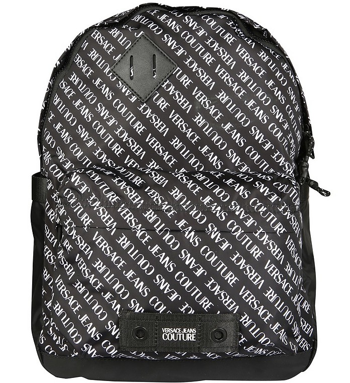 Backpack With Logo - Versace Jeans Couture / ヴェルサーチジーンズクチュール