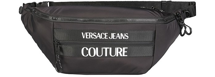 Maxi Belt Bag With Logo - Versace Jeans Couture