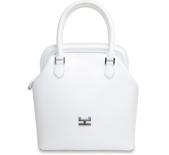 Melime Leather Tote Bag - Hemcael