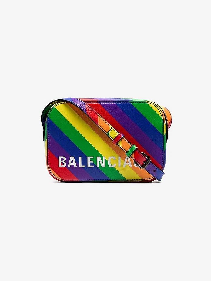 Balenciaga Crossbody Multicoloured Ville XS Leather Cross Body Bag