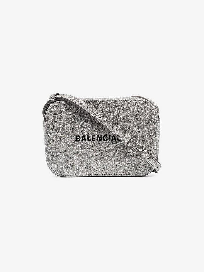 Balenciaga Accessories Everyday XS Glitter Camera Bag
