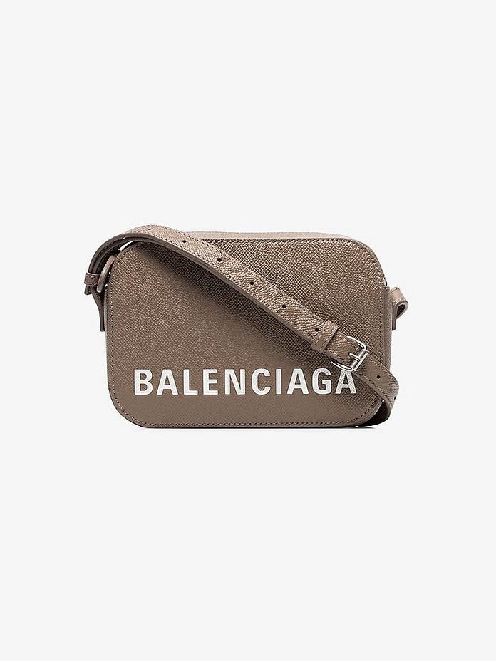 Balenciaga Accessories Grey Ville Camera Bag