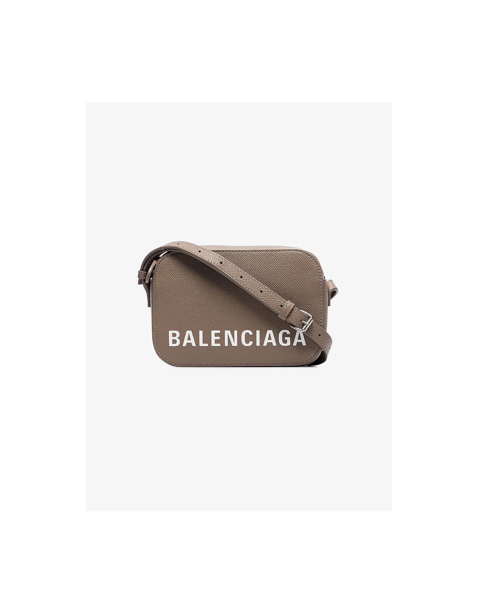 Balenciaga Bags GREY VILLE CAMERA BAG