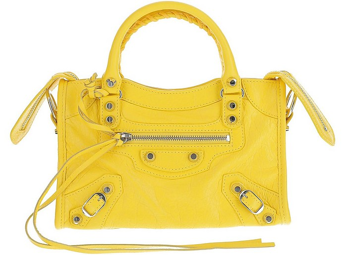 Yellow Shoulder Bag - Balenciaga