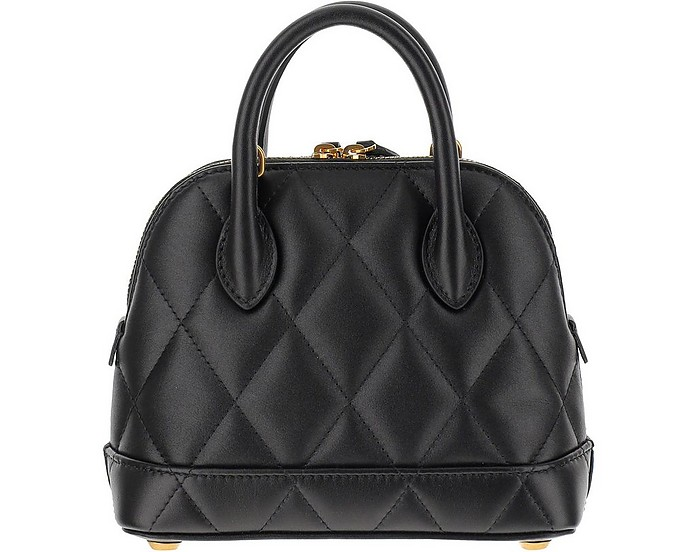Black Quilted Leather Ville Top XXS Satchel Bag - Balenciaga