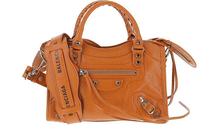 Caramel Leather Classic City Bag - Balenciaga