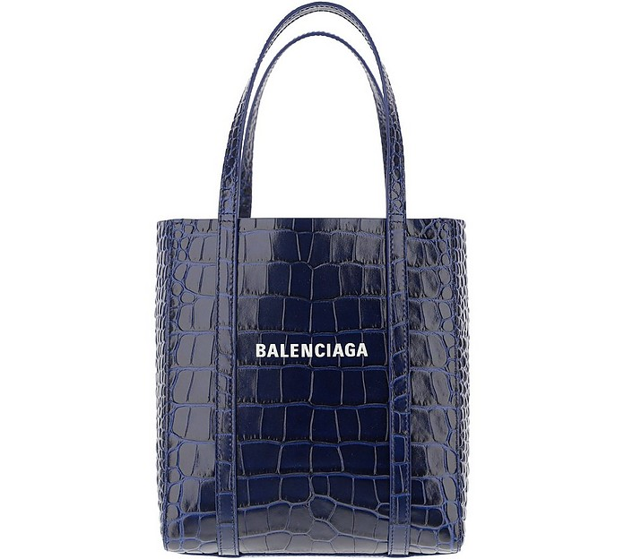 Navy Shopper - Balenciaga