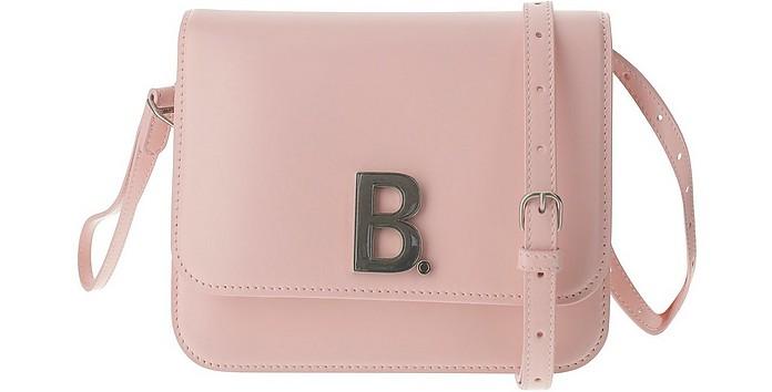 Pink Leather Small B Shoulder Bag - Balenciaga / バレンシアガ