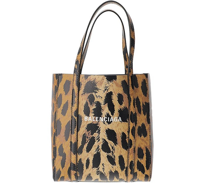 Animal Print Tote Bag - Balenciaga