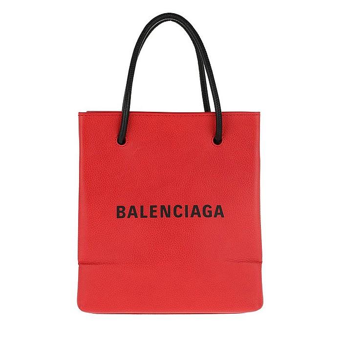 Shopping Tote XXS Red/Black - Balenciaga