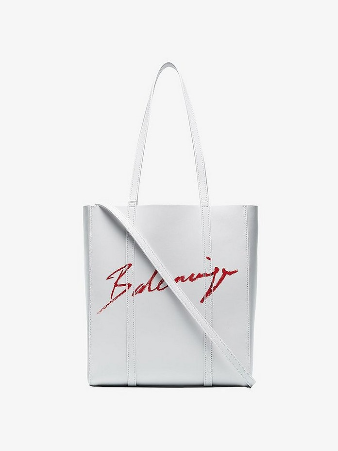 Balenciaga Totes White extra small Everyday Lipstick tote bag