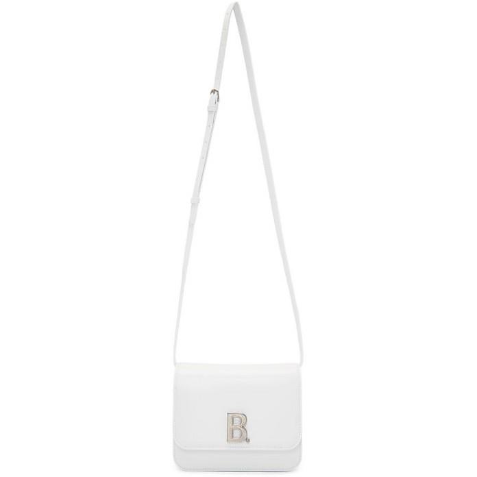 White Small B. Bag - Balenciaga